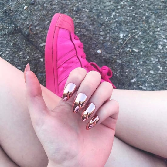 Copper Nail Art
