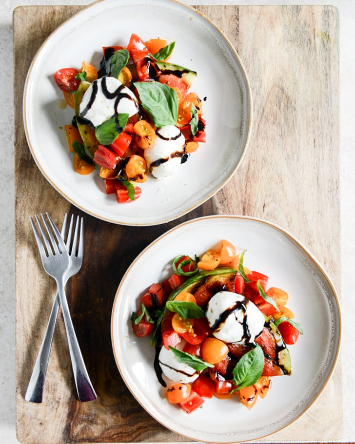 Grilled Watermelon Caprese Salad