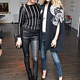 Kendall stuck close to model (and Cody Simpson's ex) Gigi Hadid.