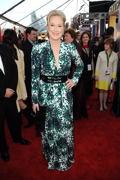 Meryl Streep at the 2010 SAG Awards