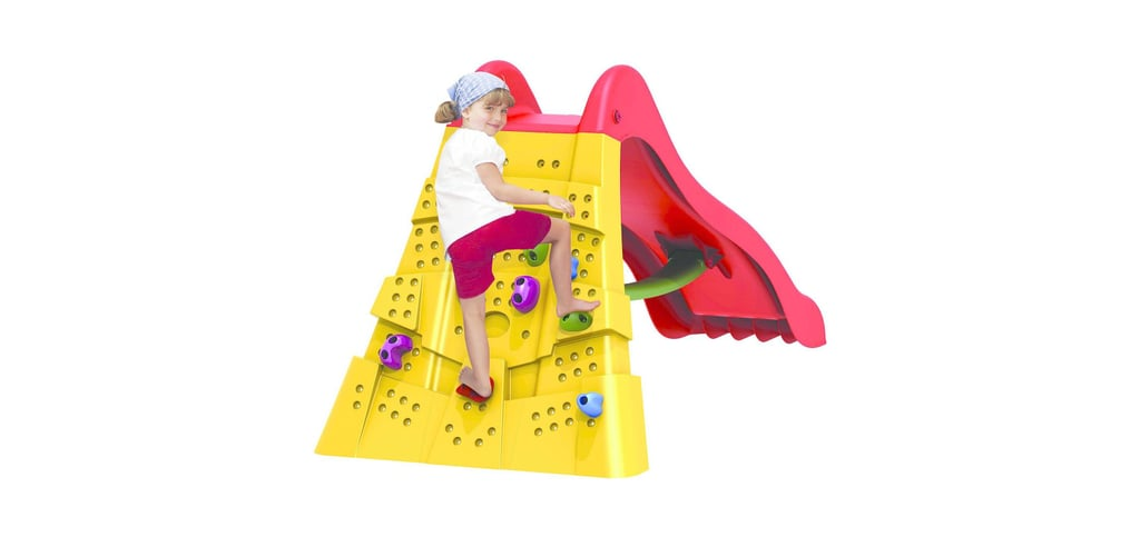 STARPLAY™ Climbing Wall Slide