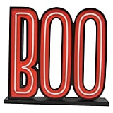 "Hyde and Eek! Boutique Halloween ""Boo"" Lite Sign With LED Bulbs"