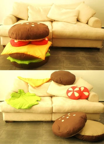 Hamburger Scatter Cushions