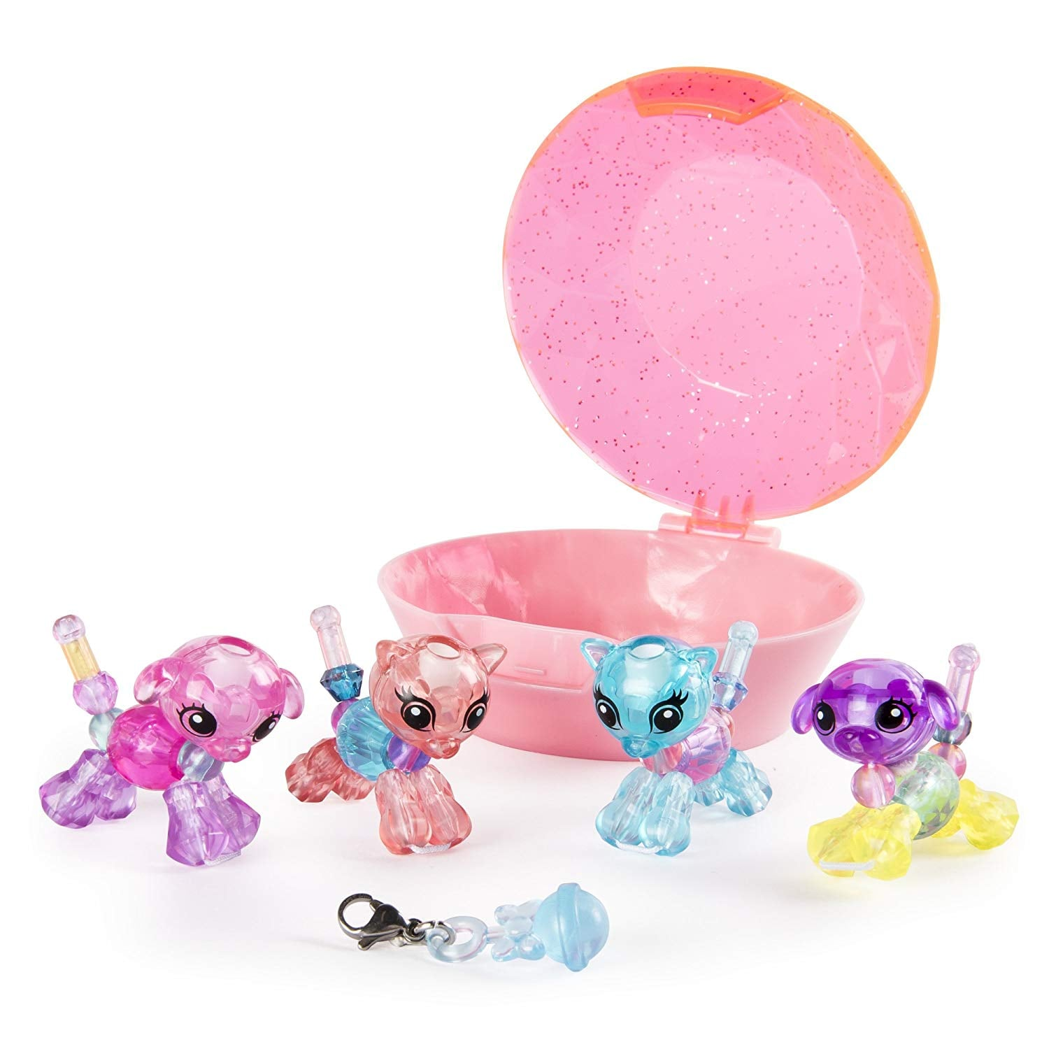 Compatible with Twisty Petz The Box is Not Created by Twisty Petz Pink Life Made Better Toy Playset Figures Organizer