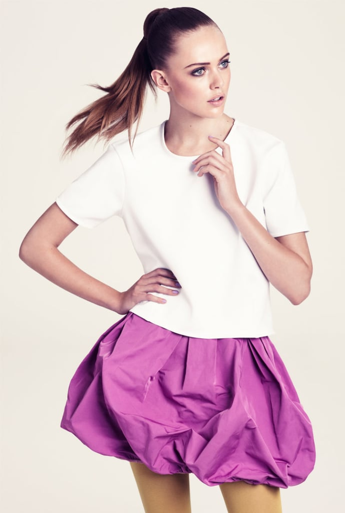 H&M Winter 2011 Lookbook — Frida Gustavsson