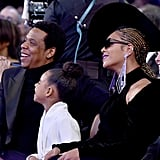 Blue Ivy Carter at the Grammys 2018
