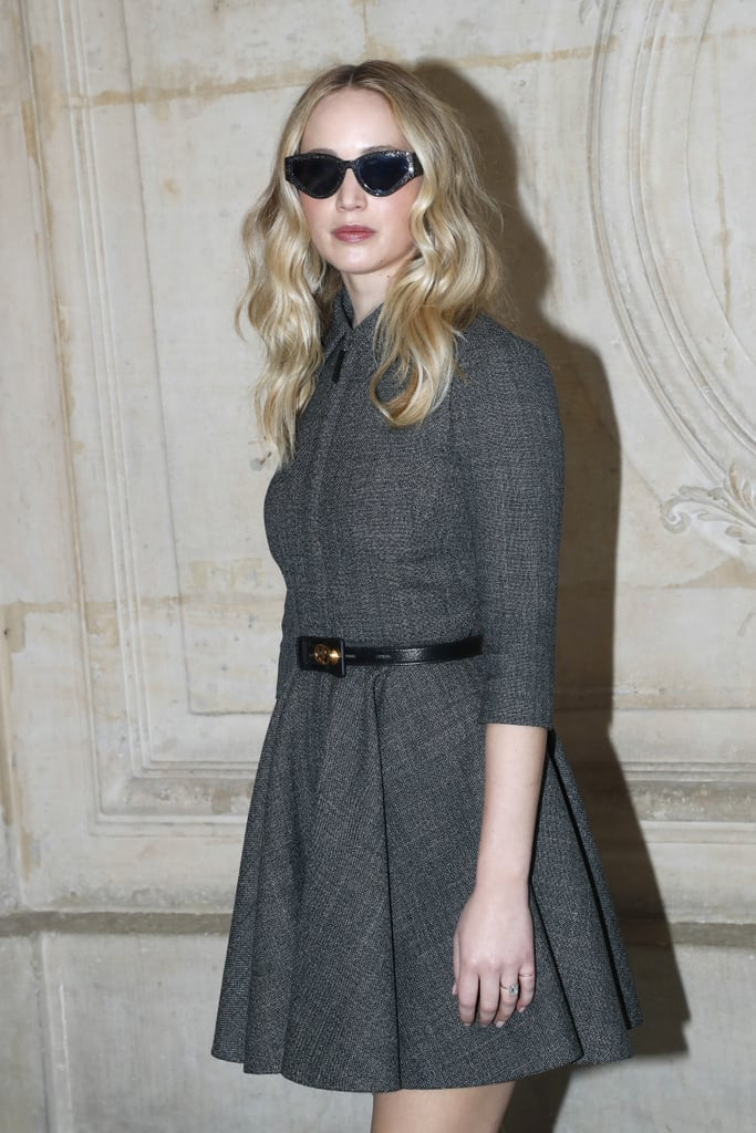 Jennifer Lawrence Finally Showed Off Her Ring at the Dior Show