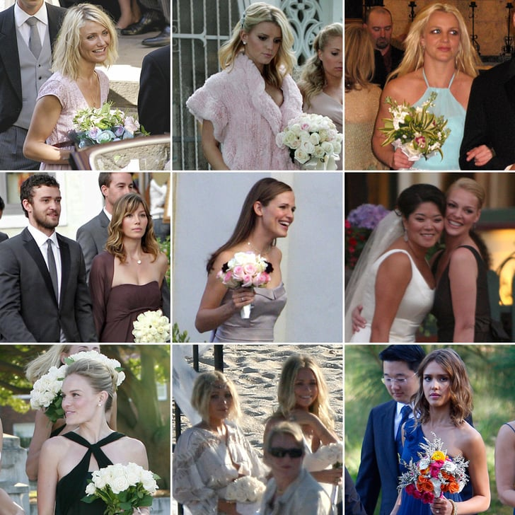 All the Celebrities Who Have Served as a Friend's Bridesmaid