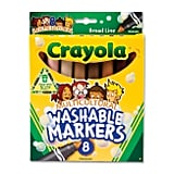 Crayola Washable Multicultural Markers ($5)