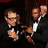 David O. Russell and Chris Tucker