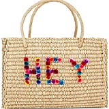 Nannacay Straw Large Maldives Hey Tote