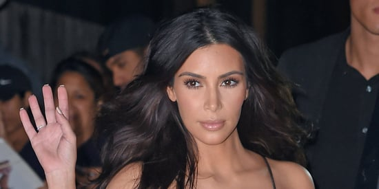 A Braless Kim Kardashian Stole The Show At Kanye's Concert (NSFW)