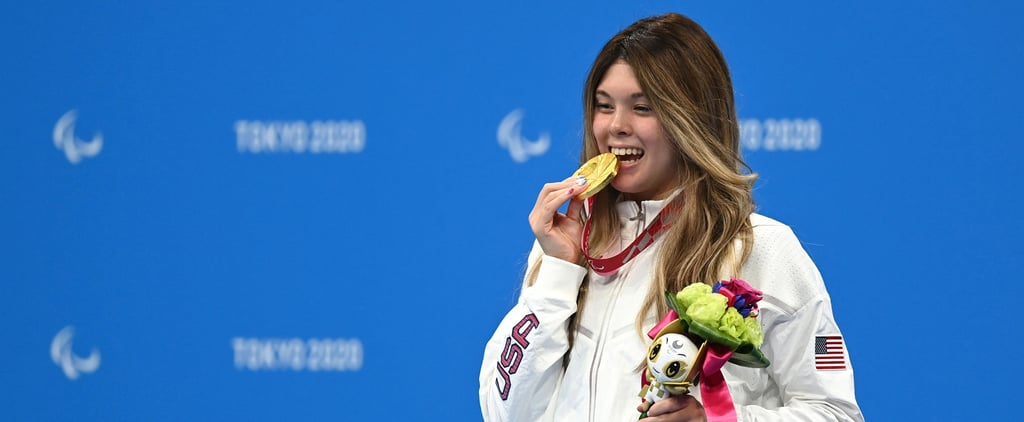 Gia Pergolini Wins Paralympic Gold Medal in 100m Backstroke