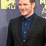 Chris Pratt at the MTV Movie and TV Awards 2018