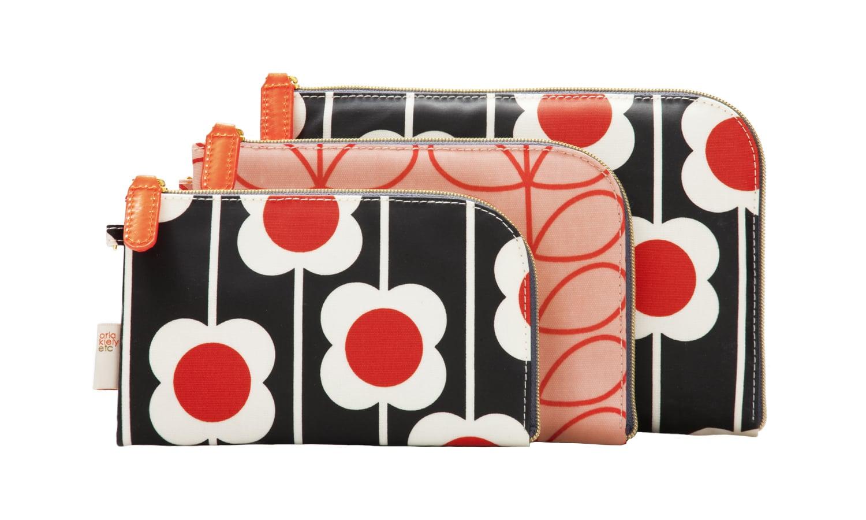 Orla Kiely Etc. Poppy 3 Piece Purse Kit