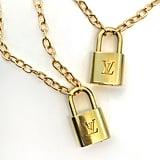 Iamkoko LV Lock Necklace