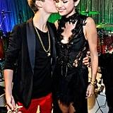 Justin Bieber and Selena Gomez, 2011