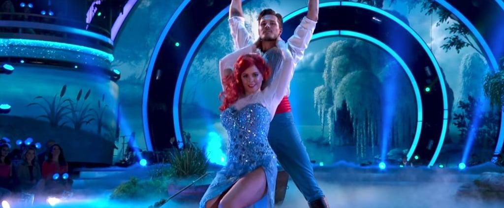 Sasha Pieterse The Little Mermaid on Dancing With the Stars