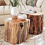 Large Reclaimed Solid Cypress Coffee Table