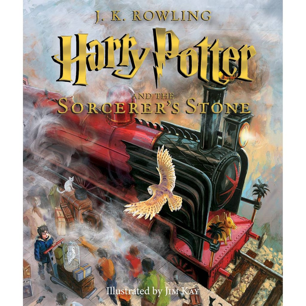 Harry Potter and the Sorcerer's Stone: The Illustrated Edition by J. K. Rowling
