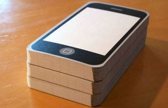 Take Note on an iPhone-Inspired Notepad