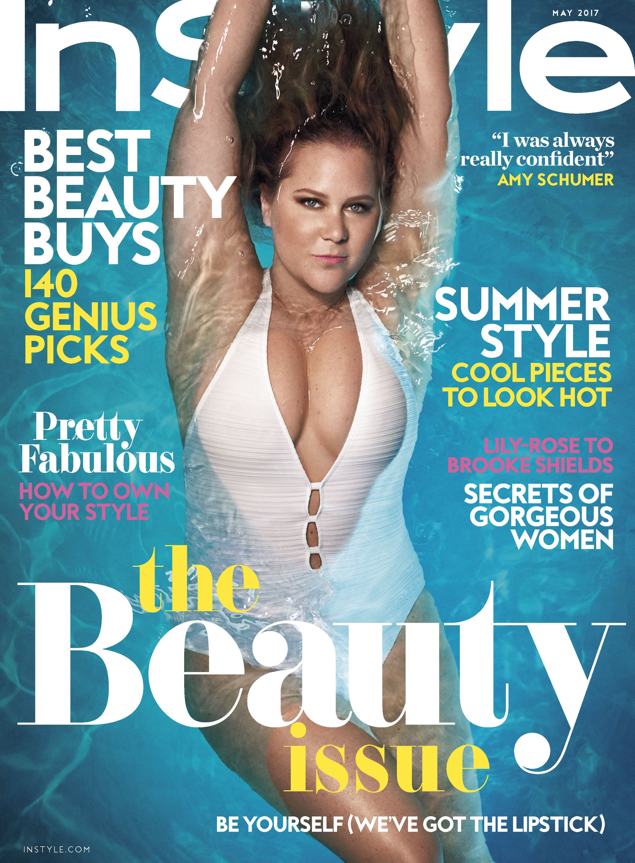 Amy Schumer Instyle May 2017 Cover Popsugar Celebrity