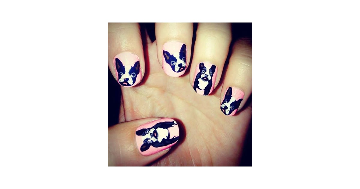 French Bull Dog Nail Art ($10) | Gifts For Dog-Lovers | POPSUGAR ...