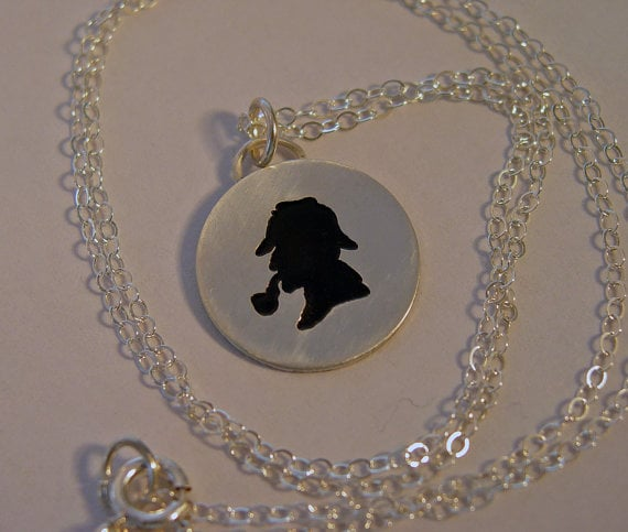 Sterling Silver Silhouette Pendant ($55)