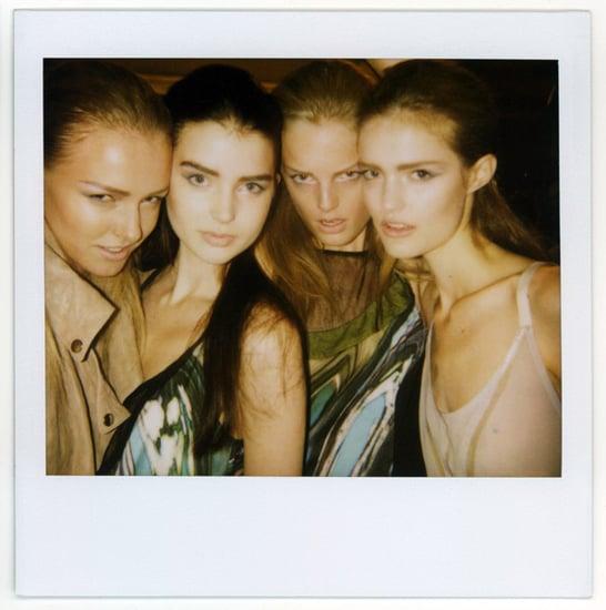 Backstage at New York Fashion Week, Spring 2010