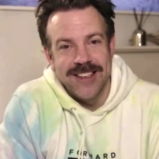 Jason Sudeikis's Tie-Dye Hoodie at the Golden Globes