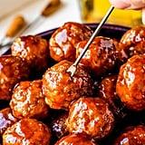 Crock-Pot Grape Jelly Meatballs