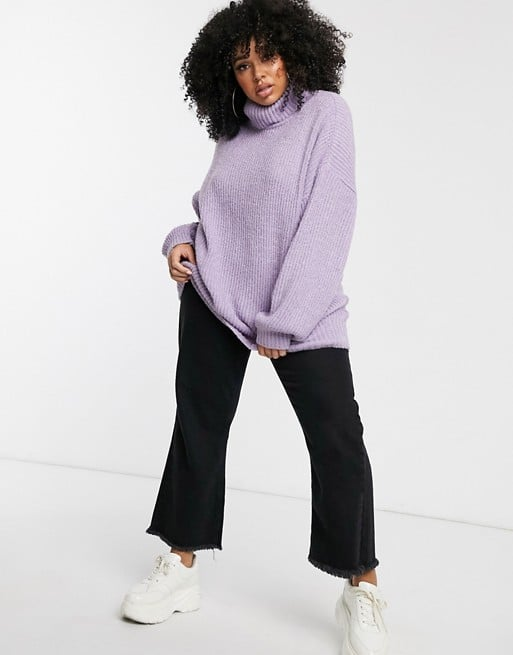 Missguided Oversize Roll-Neck Sweater
