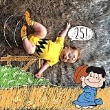 """""""You're a good man, Charlie Brown. #25weeks"""""""