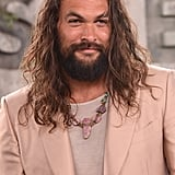 Jason Momoa Is a Red Carpet Stud in His Pink Tom Ford Suit