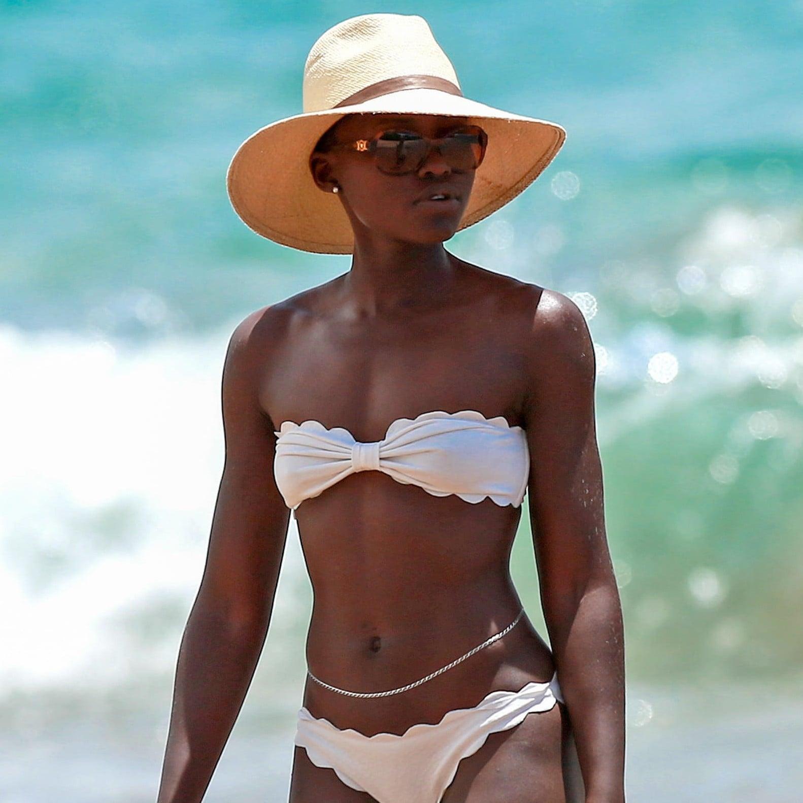 Lupita Nyongo Bikini Pictures Popsugar Celebrity
