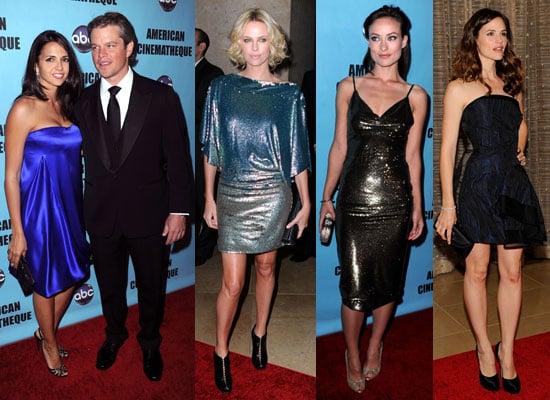 Photos of Jennifer Garner, Ben Affleck, Charlize Theron And More Celebrating Matt Damon's American Cinematheque Award