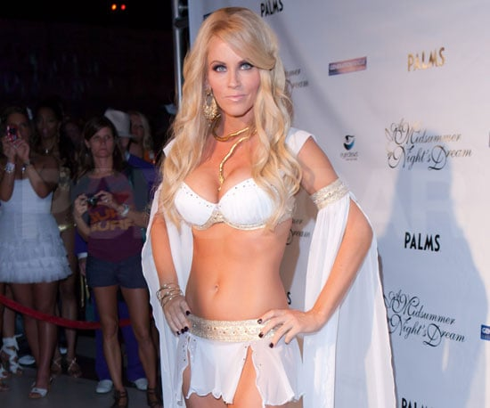 Slide Picture of Jenny McCarthy in Lingerie at the Palms Casino in Las Vegas