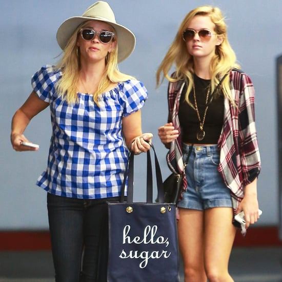 Reese Witherspoon and Ava Phillippe Wearing Plaid Shirts