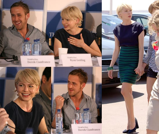 Photos of Michelle Williams And Ryan Gosling Promoting Blue Valentine at Cannes