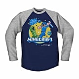 Minecraft Raglan T-Shirt