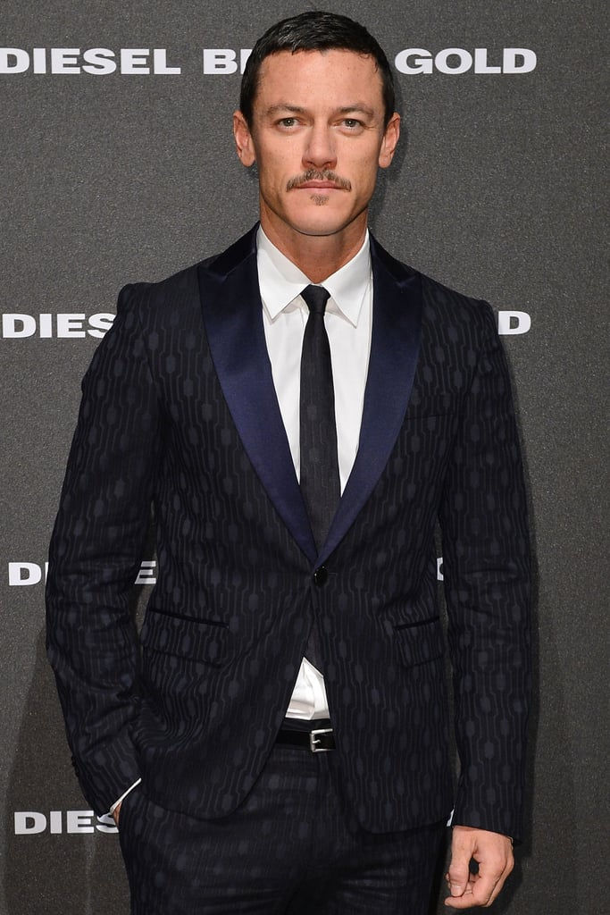 Clash of the Titans' Luke Evans joined Dracula in the title role.
