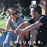 Ben Affleck and Jennifer Garner Out in LA September 2016