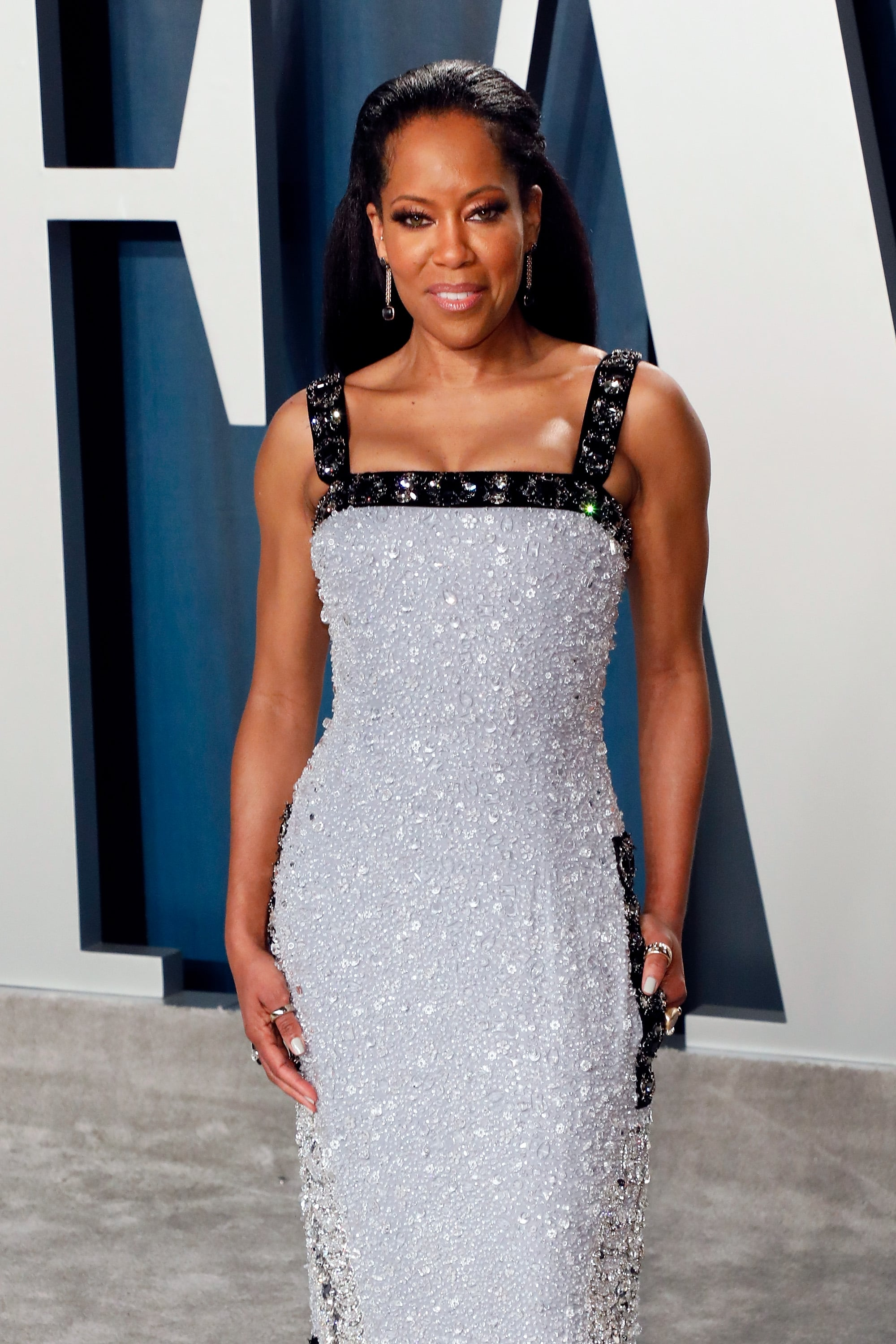 Regina King At The Vanity Fair Oscars Afterparty 2020 See Every Incredible Dress At The Vanity Fair Oscars Afterparty Popsugar Fashion Photo 199