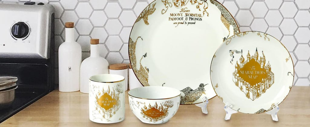 Target Has a 16-Piece Porcelain Harry Potter Dining Set