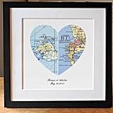 Heart Map Gift
