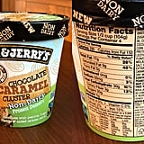 Ben & Jerry's Non-Dairy Chocolate Caramel Cluster Nutritional Info
