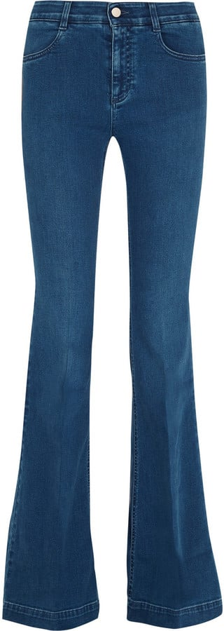 Stella McCartney Mid-Rise Flared Jeans ($365)