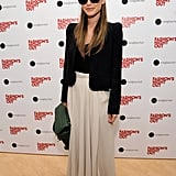 Rachel Bilson kept her sunglasses on during Fashion's Night Out.
