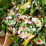 Pear, Pomegranate, and Spinach Salad