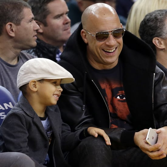 Vin Diesel Shares a Video of His Son Vincent on Instagram